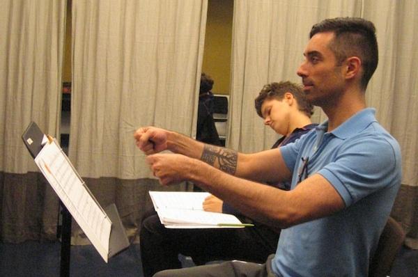 RWO in rehearsal
