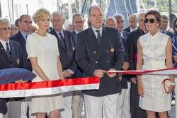Prince Albert commissioning new Yacht Club de Monaco