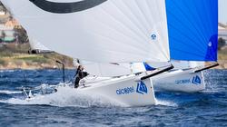 Alcatel J/70 Cup sailing action