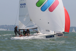 J/70 sailing UK Nationals