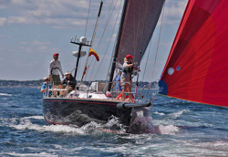 J/120 starting Marblehead to Halifax Race