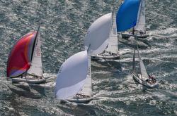 J/105 sailing offshore
