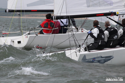 J/70s sailing JCup