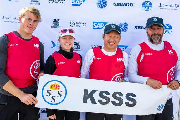 KSSS wins Swedish J/70 Sailing League