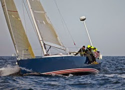 J/122 Anam Cara sailing Oregon Offshore race