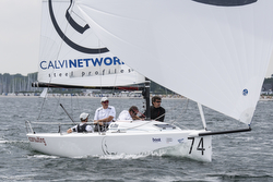 J/70 Calvi Network sailing J/70 Europeans