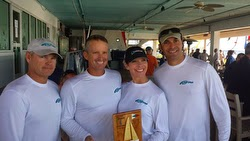 J/70 New Wave- Marty Kullman winning Quantum Winter Series I- Tampa, FL