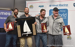 J/70 sailor Jud Smith and Worlds crew