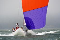 J/105 sailing- San Francisco Bay