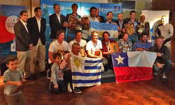 J/70 South Americans winners podium