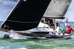 J/122E sailing Cowes Week