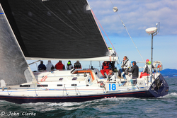 J/160 JAM sailing Swiftsure Race