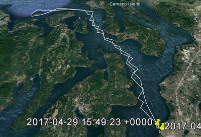 J/125 Hamachi route