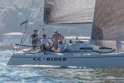 J/120 sailing Hot Rum series