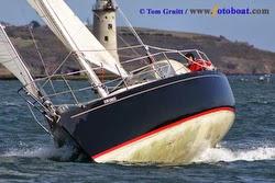 J/36 Jazz sailing singlehanded
