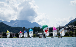 J/70s Sailing Champions League- St Moritz, Switzerland