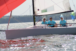 J/70 Corinthians division- sailing Easter Regatta