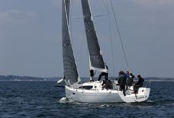 J/112E sailing off France