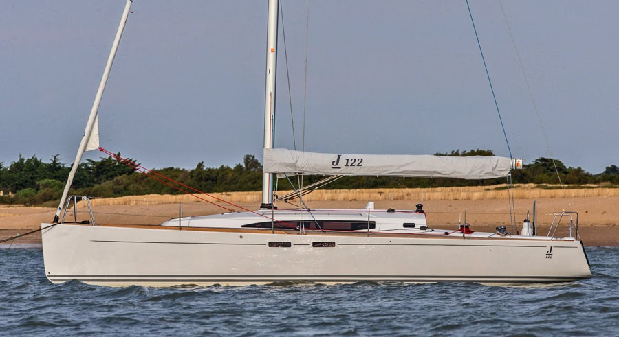 J/122E cruiser racer sailboat