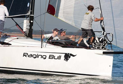 J/88 sailing Hamble series