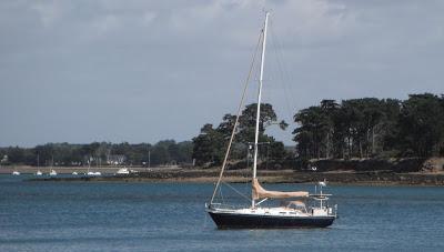 J/42 sailing off France