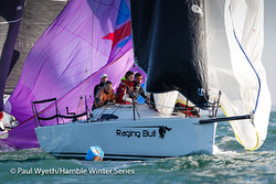 J/88 sailing Hamble Winter Series- England