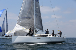 J/112E sport cruiser sailing off France