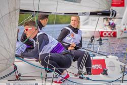 J/70 sailing league- Russia- Valeriya K