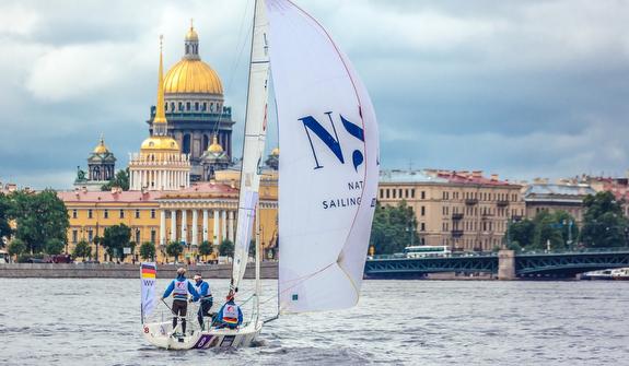 J/70s sailing St Petersburg, Russia