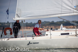 J/105 sailing UK Double handed championship