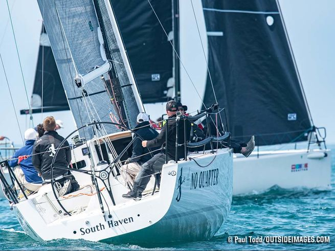 J/111 sailing Chicago NOOD regatta