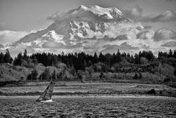 Seattle sailing on Puget Sound