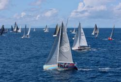 J/122 sailing RORC 600