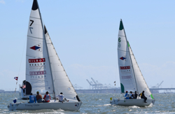 J/22s sailing San Francisco Cup
