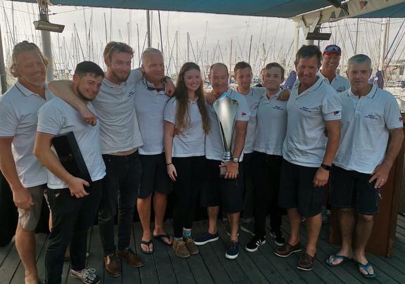 J/133 Jacana winning crew