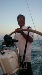 Sailing the J/122e on a cruise off India's coastline