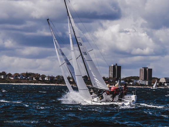 Cold, Windy MAIOR Cup Regatta