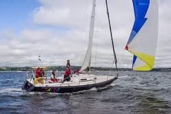 J/105 sailing Dartmouth Week