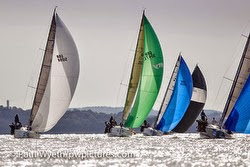 J/111 sailboats- sailing Hamble Winter Series