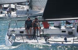 J/125 Timeshaver sailing Puerto Vallarta races