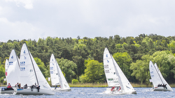 J/70s sailing Wannsee Woche in Berlin, Germany