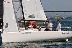 J/70 sailing San Diego
