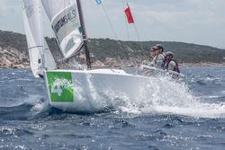 J/70s sailing YC Costa Smeralda team race- Sardinia, Italy