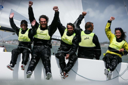 J/70 woman sailor- Claudia Rossi wins Europeans
