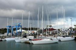 Sandringham Yacht Club in Melbourne, Australia