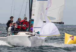 J/70 sailing offshore at New York YC Regatta