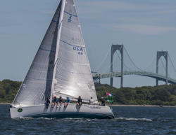 J/109 sailing Around Jamestown Race