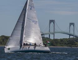 J/109 sailing Around Jamestown Race