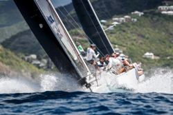 J/122 Liquid sailing Antigua Sailing Week