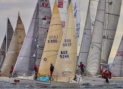 J/24 women's sailing in Australia